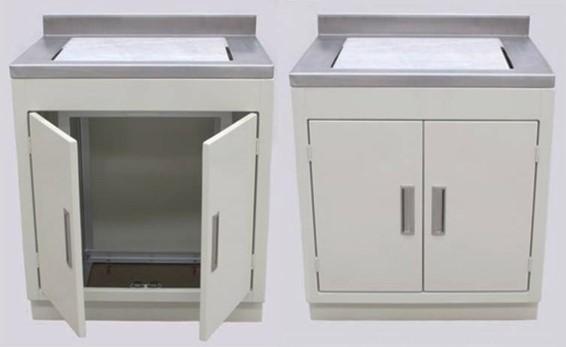 Mesa para balanza con placa de marmol luzeren for Placas de marmol medidas